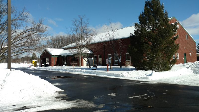 Senior Center after snowstorm February 2017