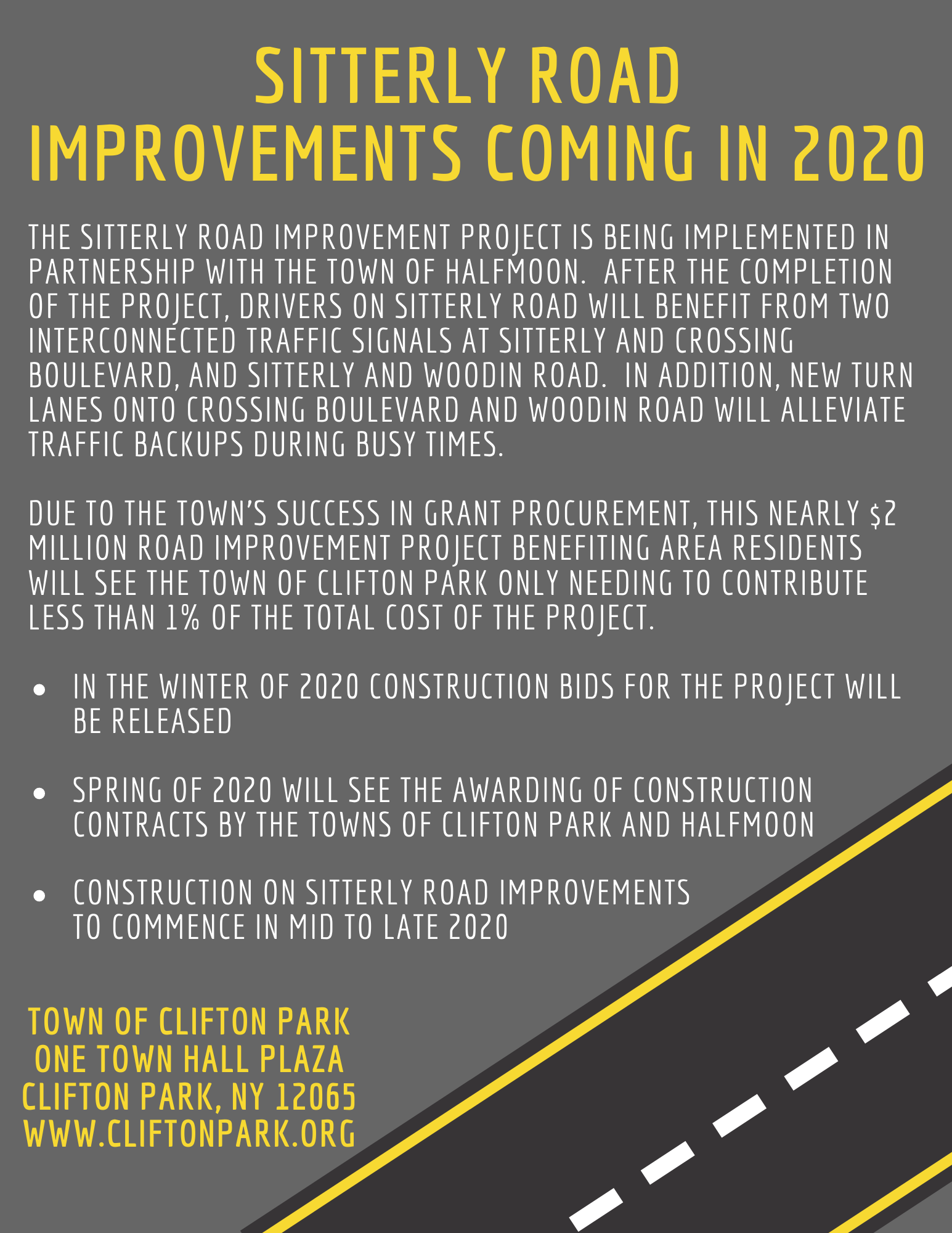 Sitterly Road Improvement Project